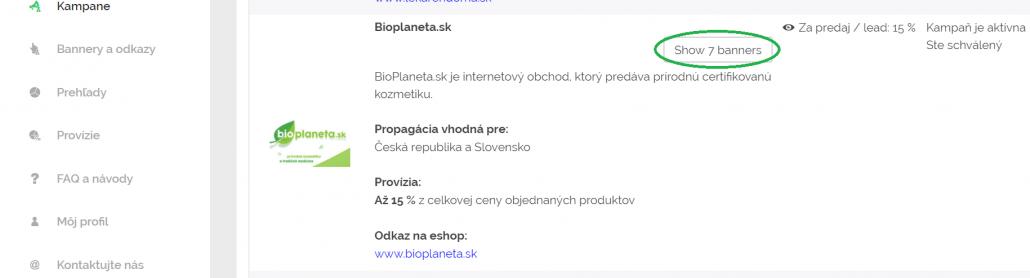 Unikátny affiliate odkaz