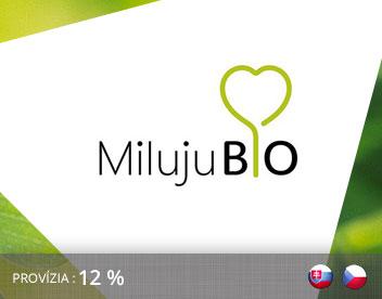 Affiliate kampaň MilujuBio.cz
